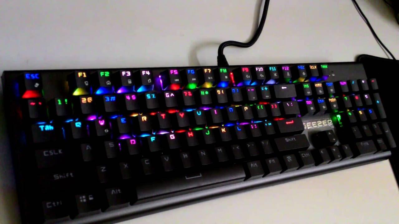 Bàn phím cơ Geezer GS2 Gaming (USB, Có dây)