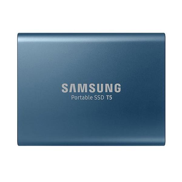 Ổ cứng di động SSD Samsung T5 Portable SSD 250Gb USB3.1 Xanh