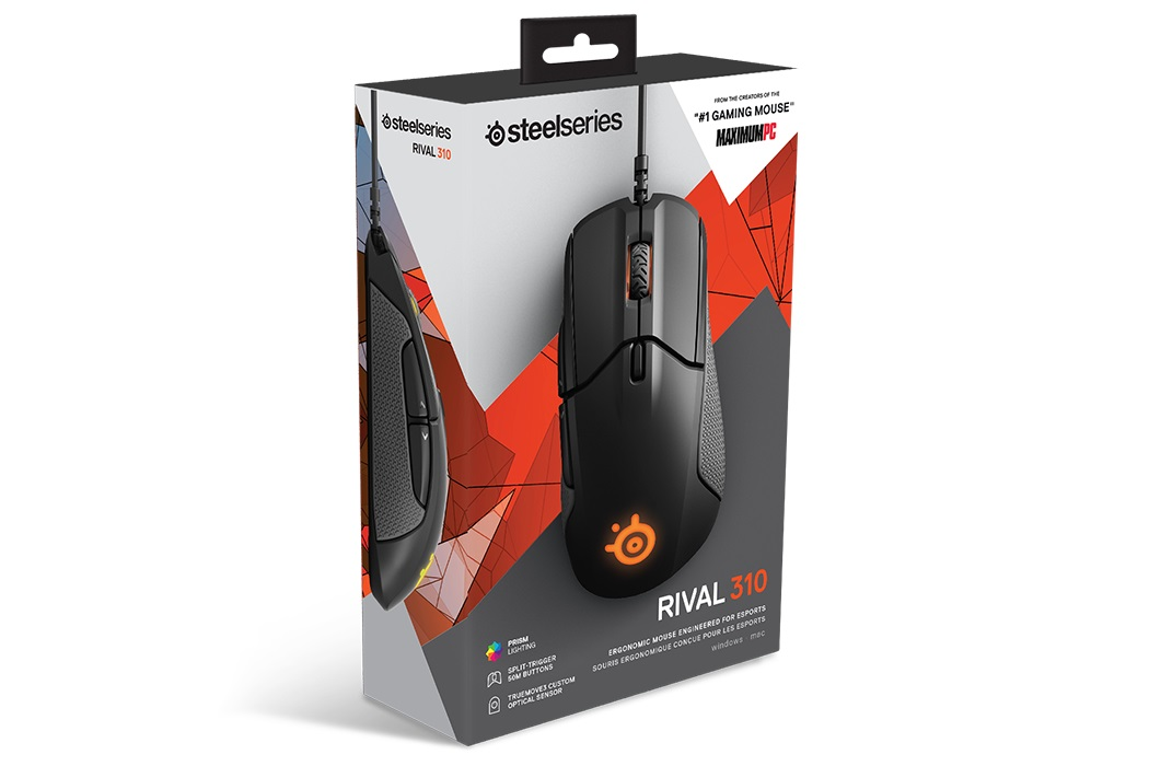 Chuột SteelSeries Rival 310 (USB, Có dây)