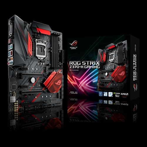 Main Asus STRIX Z370-H GAMING (Chipset Intel Z370/ Socket LGA1151/ VGA onboard)
