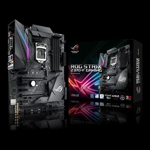 Main Asus STRIX Z370-F GAMING (Chipset Intel Z370/ Socket LGA1151/ VGA onboard)