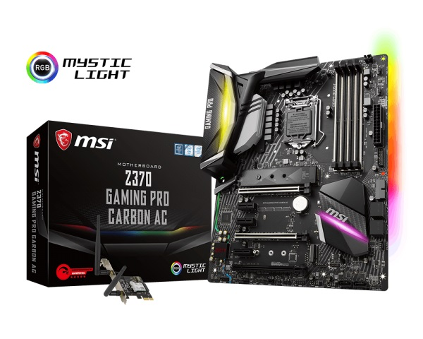 Main MSI Z370 GAMING PRO CARBON AC (Chipset Intel Z370/ Socket LGA1151/ VGA onboard)