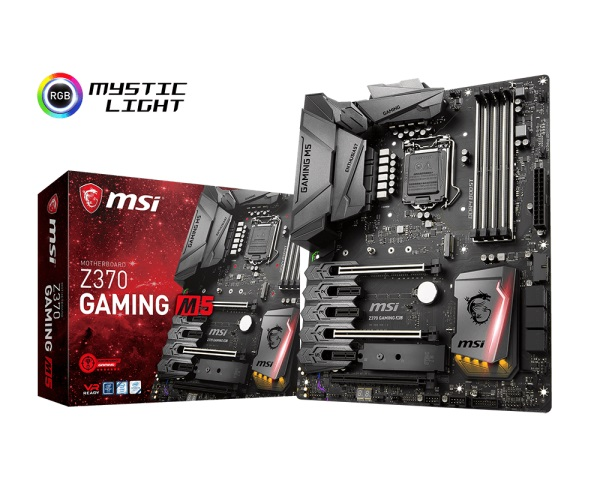 Main MSI Z370 GAMING M5 (Chipset Intel Z370/ Socket LGA1151/ VGA onboard)