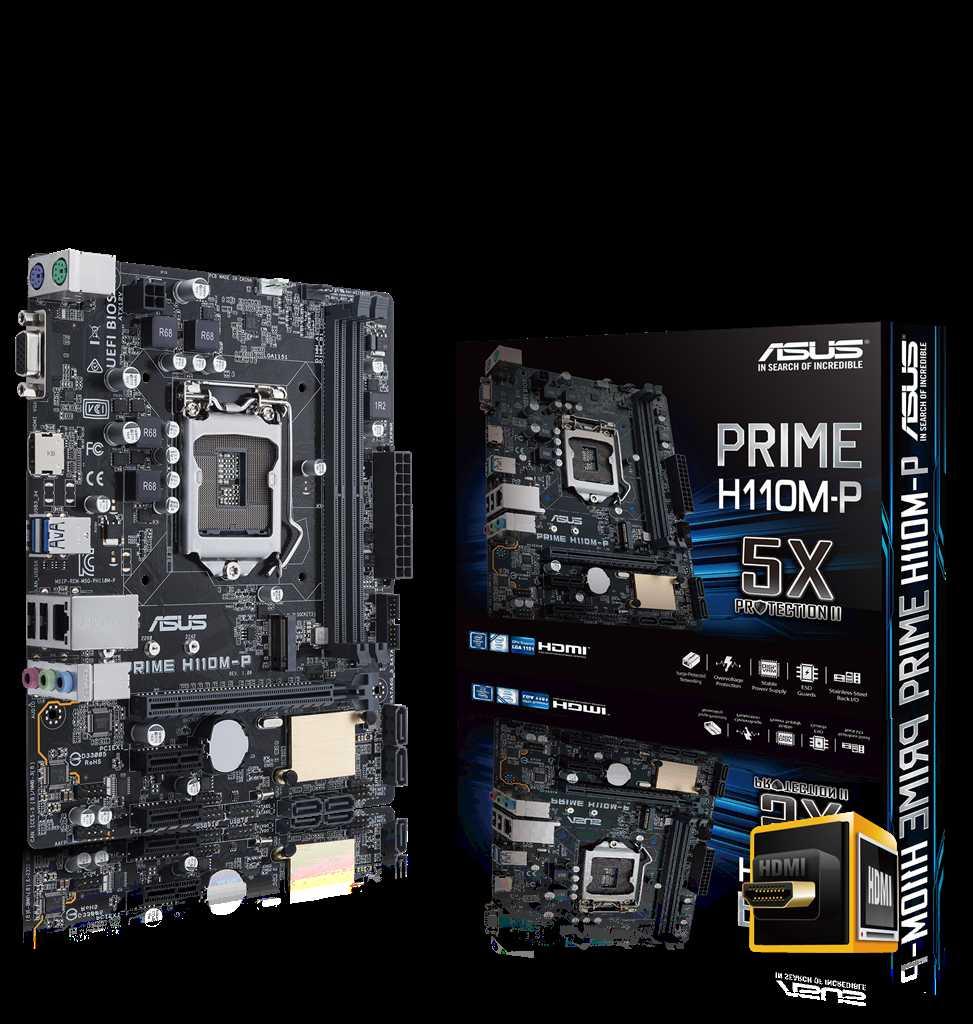 Main Asus H110M-P (Chipset Intel H110/ Socket LGA1151/ VGA onboard)