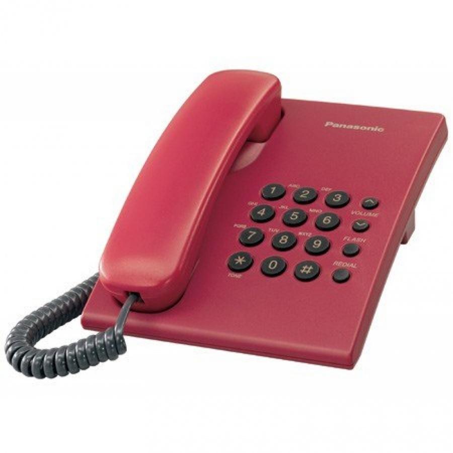Điện thoại CĐ Panasonic KXTS500-Đỏ