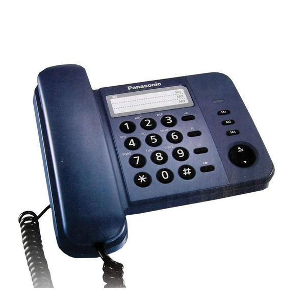 Điện thoại CĐ Panasonic KXTS520-Xanh tím than
