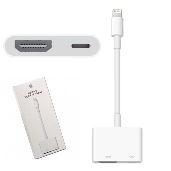 Cáp chuyển Apple Lightning sang AV (Chính hãng)