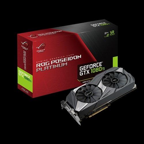 VGA Asus ROG-POSEIDON-GTX1080TI-P11G-GAMING (NVIDIA Geforce/ 11Gb/ DDR5X/ 352Bit)