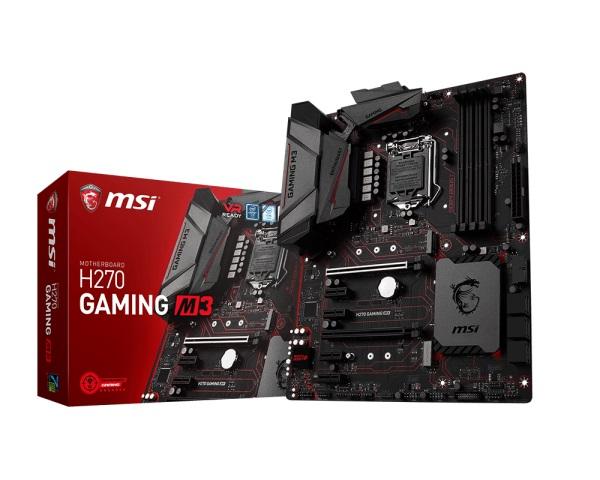 Main MSI H270 GAMING M3 (Chipset Intel H270/ Socket LGA1151/ VGA onboard)