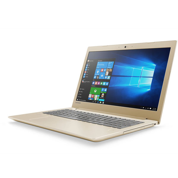 Laptop Lenovo Ideapad 520 15IKBR-81BF0091VN/81BF00BSVN (Gold)- CPU Kabylake,mỏng,nhẹ,Bảo hành onsite