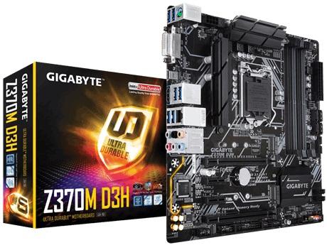 Main Gigabyte Z370M-D3H (Chipset Intel Z370/ Socket LGA1151/ VGA onboard)