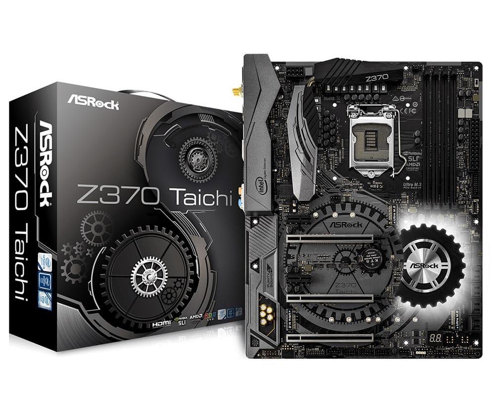 Main Asrock Z370 Taichi (Chipset Intel Z370/ Socket LGA1151/ VGA onboard)