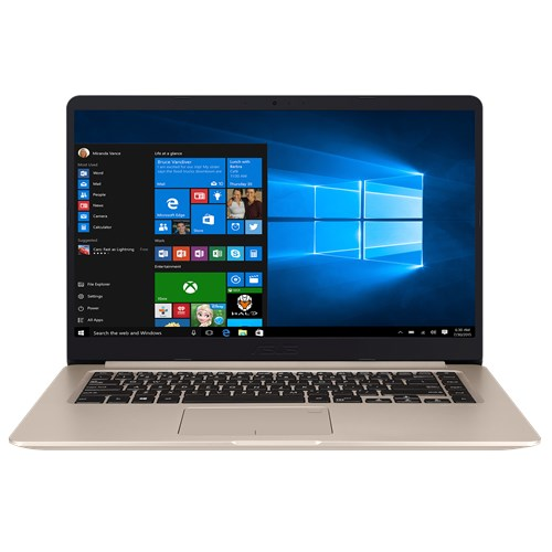 Laptop Asus S510UA-BQ111T (Gold)- Ultra thin, FingerPrint