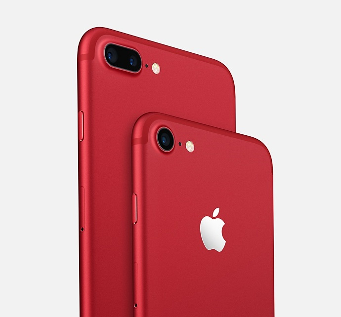 Apple iPhone 7 Plus  (Red)- 5.5Inch/ 128Gb/ 1 sim