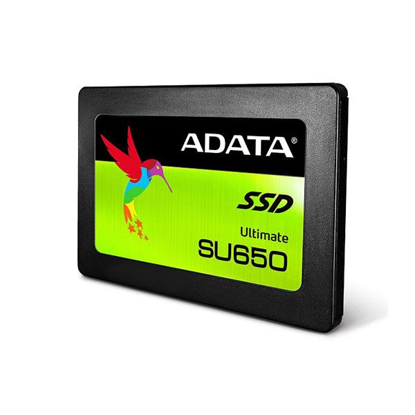 Ổ SSD Adata SU650 120Gb SATA3 (đọc: 520MB/s /ghi: 320MB/s)