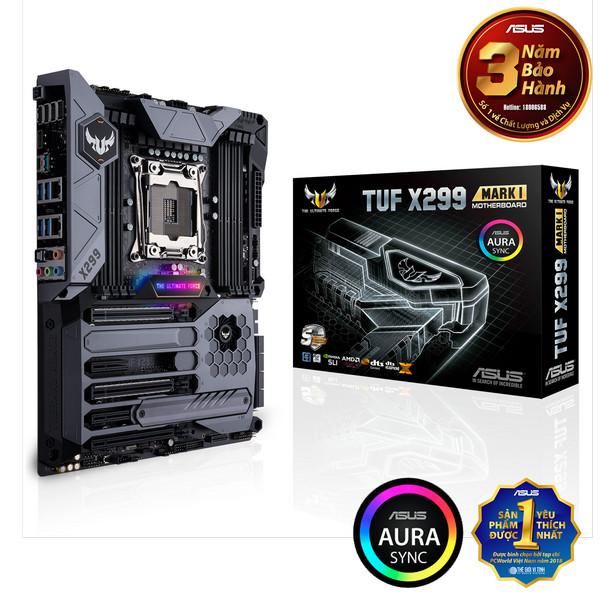 Main Asus TUF X299 MARK 1 (Chipset Intel X299/ Socket LGA2066/ None VGA)