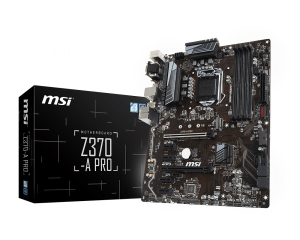 Main MSI Z370-A PRO (Chipset Intel Z370/ Socket LGA1151/ VGA onboard)