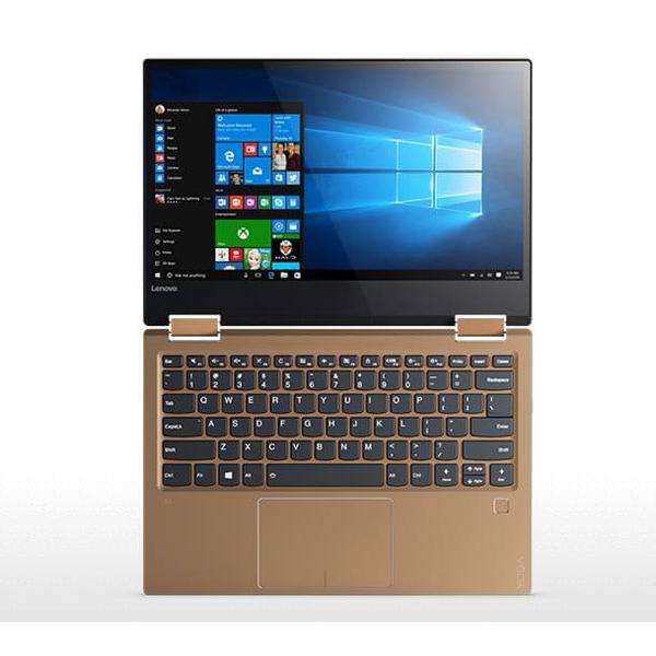 Laptop Lenovo Yoga 720-13IKBR-81C3000TVN (Gold)- Vỏ nhôm cao cấp, mỏng, nhẹ
