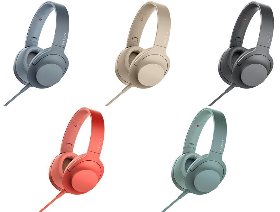 Tai nghe Sony IER-H600A (Đen, Xanh Lá,Xanh Dương, Hồng, Vàng Đồng)