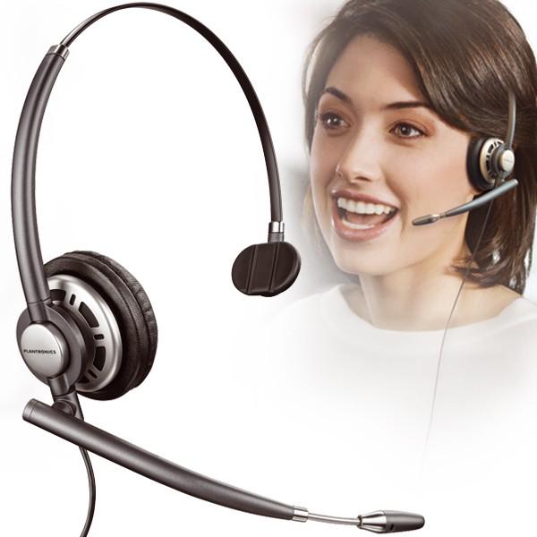 Tai nghe Plantronic Encorepro HW710 (chuẩn QD, 1 tai)