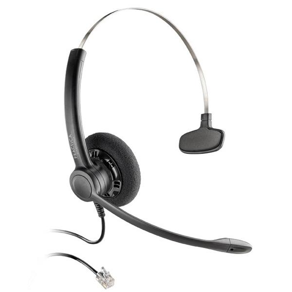 Tai nghe Plantronic SP11-QD Practica (chuẩn QD, 1 tai)