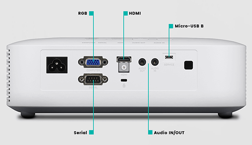 Máy chiếu Casio XJ-V2 h2