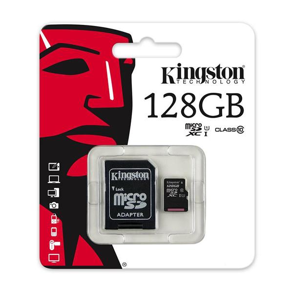 Thẻ nhớ Micro SD Kingston 128Gb Class 10