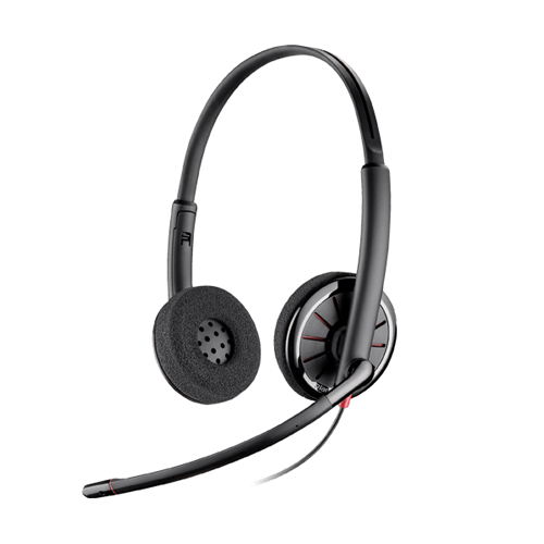 Tai nghe Plantronic C320-M Stereo (Microsoft) (chuẩn USB, 2 tai)