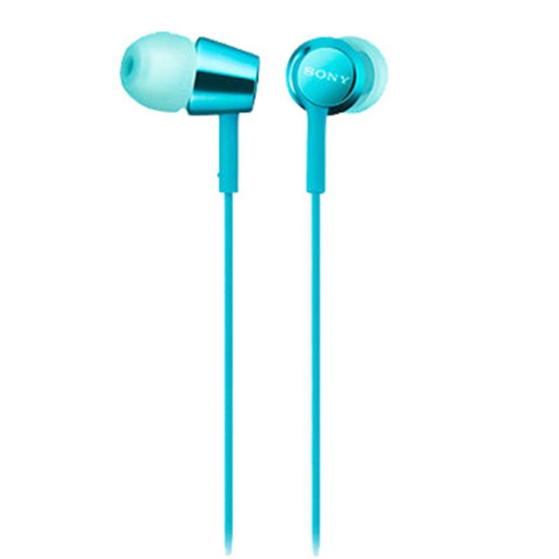 Tai nghe Sony MDR-EX155AP (Xanh)