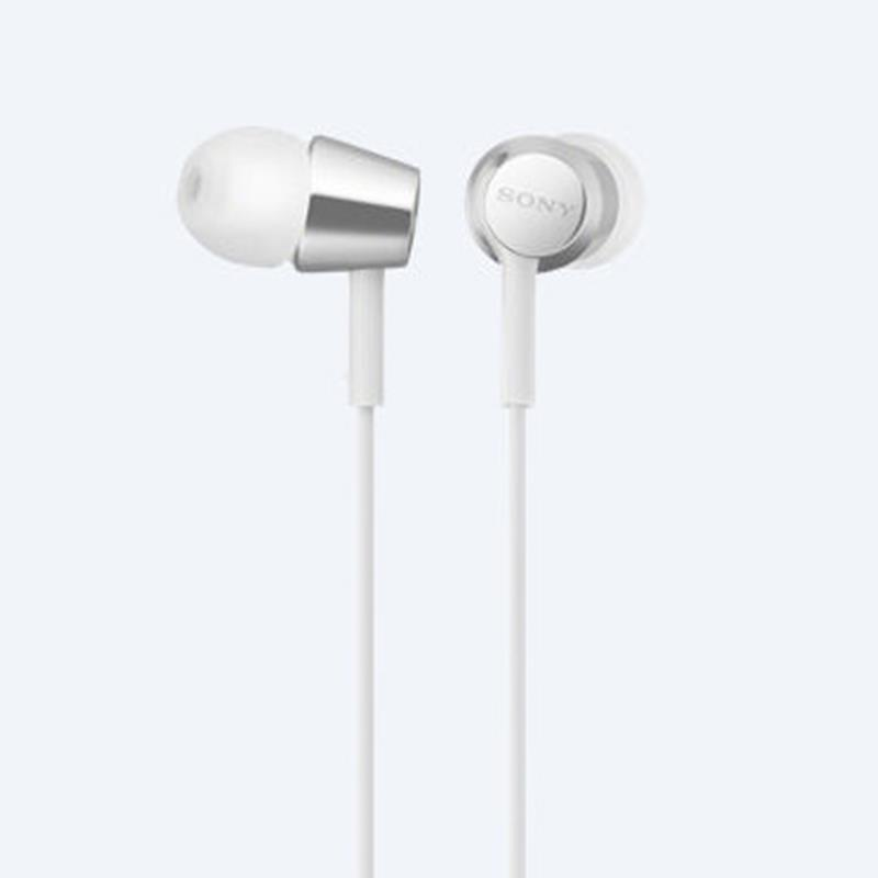 Tai nghe Sony MDR-EX155AP (Trắng)