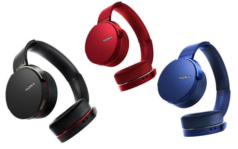 Tai nghe không dây Sony MDR-XB950B1 (Đen, Đỏ, Xanh rêu)