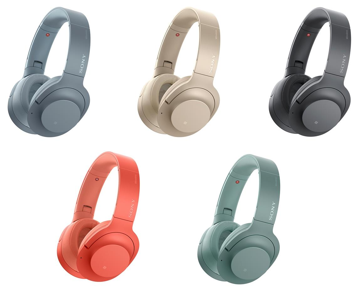 Tai nghe không dây Sony WH-H900 (Đen, Xanh Lá,Xanh Dương, Hồng, Vàng Đồng)