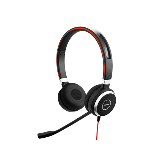 Tai nghe Jabra Evolve 40 Stereo (chuẩn USB, 2 tai)