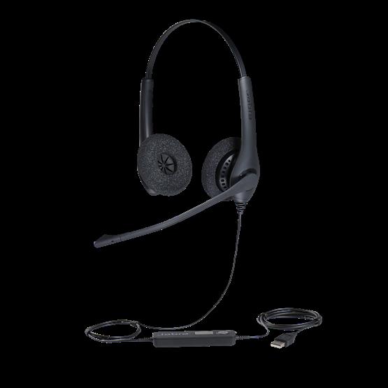 Tai nghe Jabra BIZ 1500 Duo (chuẩn USB, 2 tai)