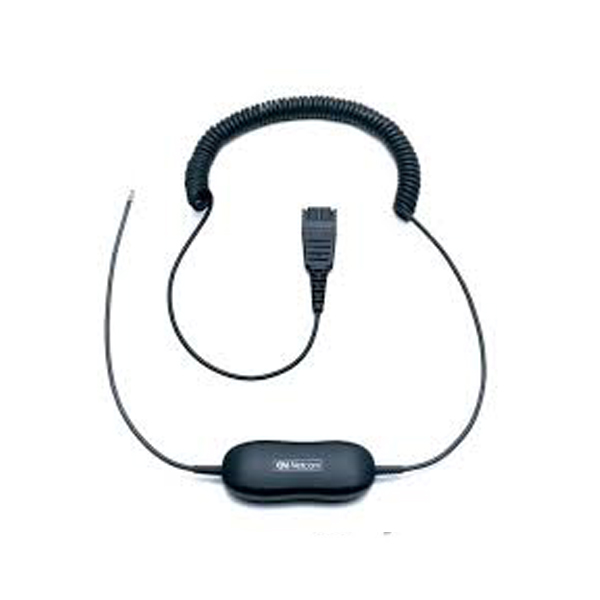Cáp kết nối mở rộng cho tai nghe QD Jabra GN1200 CC( dạng xoắn)