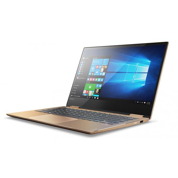 Laptop Lenovo Yoga 520 14IKB-80X800WQVN (Gold)- Màn hình cảm ứng, Full HD. Xoay gập 360 độ