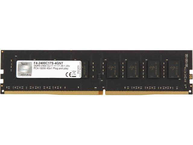 RAM GSKill 4Gb DDR4-2400- F4-2400C17S-4GNT
