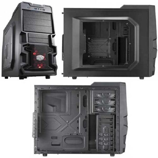 Vỏ máy tính Cooler Master K380 (Micro-ATX, ATX)