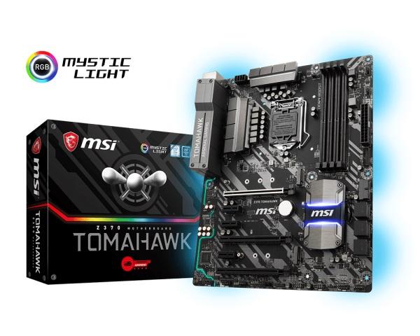 Main MSI Z370 TOMAHAWK (Chipset Intel Z370/ Socket LGA1151/ VGA onboard)