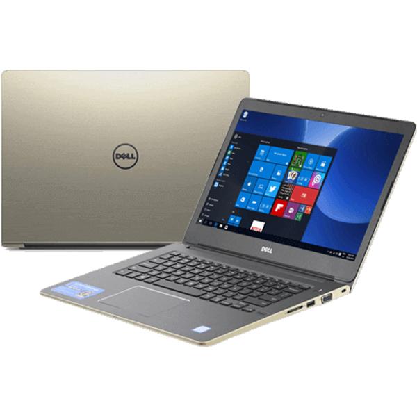 Laptop Dell Vostro 5468-VTI35018 (Gold)- vỏ nhôm mỏng đẹp