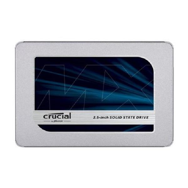 Ổ SSD Crucial MX500 250Gb SATA3 3D Nand (đọc: 560MB/s /ghi: 510MB/s)