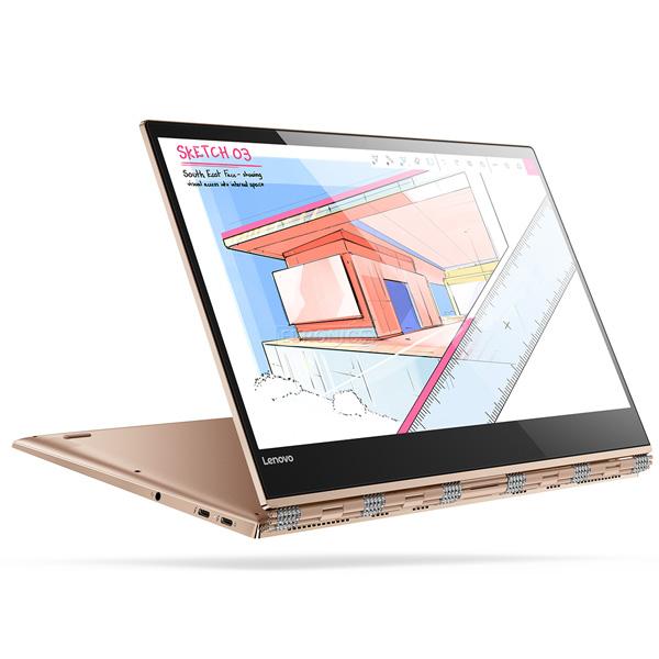 Laptop Lenovo Yoga 920-13IKB-80Y7009KVN (Golden)- Màn hình cảm ứng xoay 360 độ