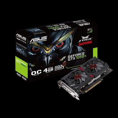 Asus STRIX GTX1050TI-DC2O4G-GAMING (NVIDIA Geforce/ 4Gb/ DDR5/ 128 Bits)