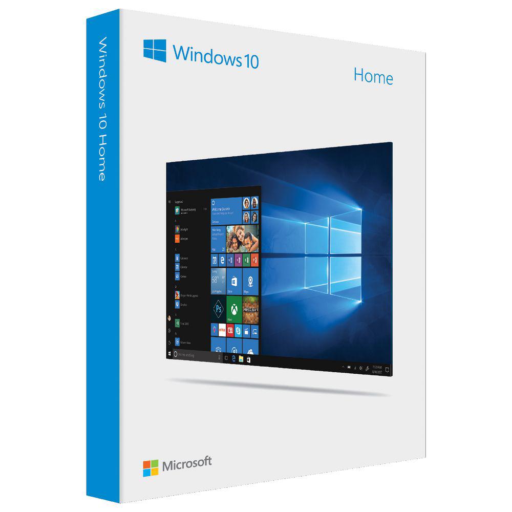 Phần mềm Microsoft Windows Home 10 32/64bit Eng Intl USB KW9-00478