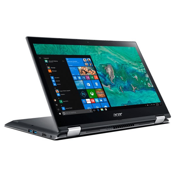 Laptop Acer Spin 3 SP314-51-39WK NX.GUWSV.001 (Grey)- Laptop 2 trong 1 mỏng nhẹ, màn hình cảm ứng, xoay 360 độ