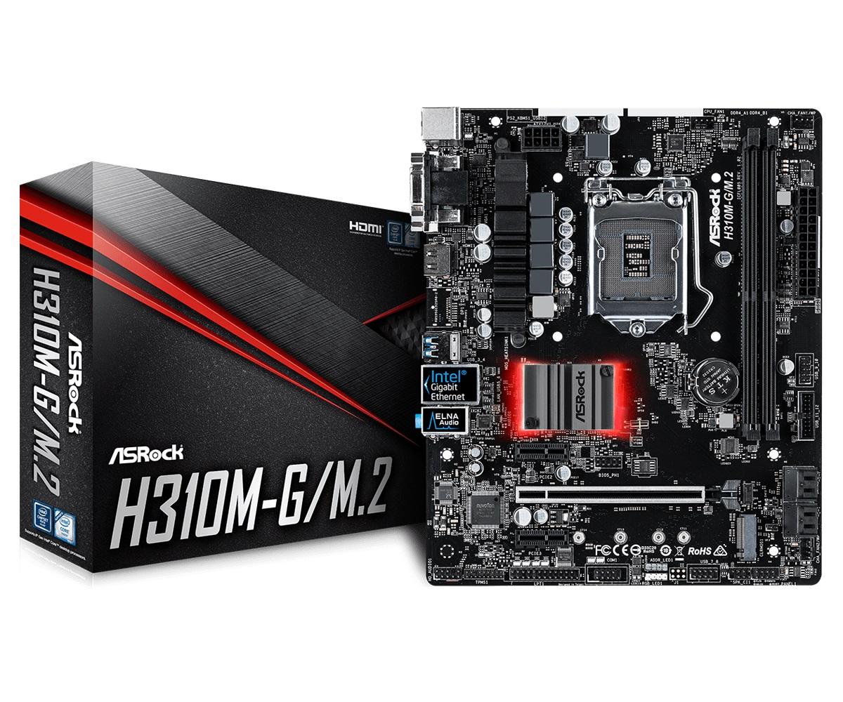 Main Asrock H310M-G/M.2 (Chipset Intel H310/ Socket LGA1151/ VGA onboard)