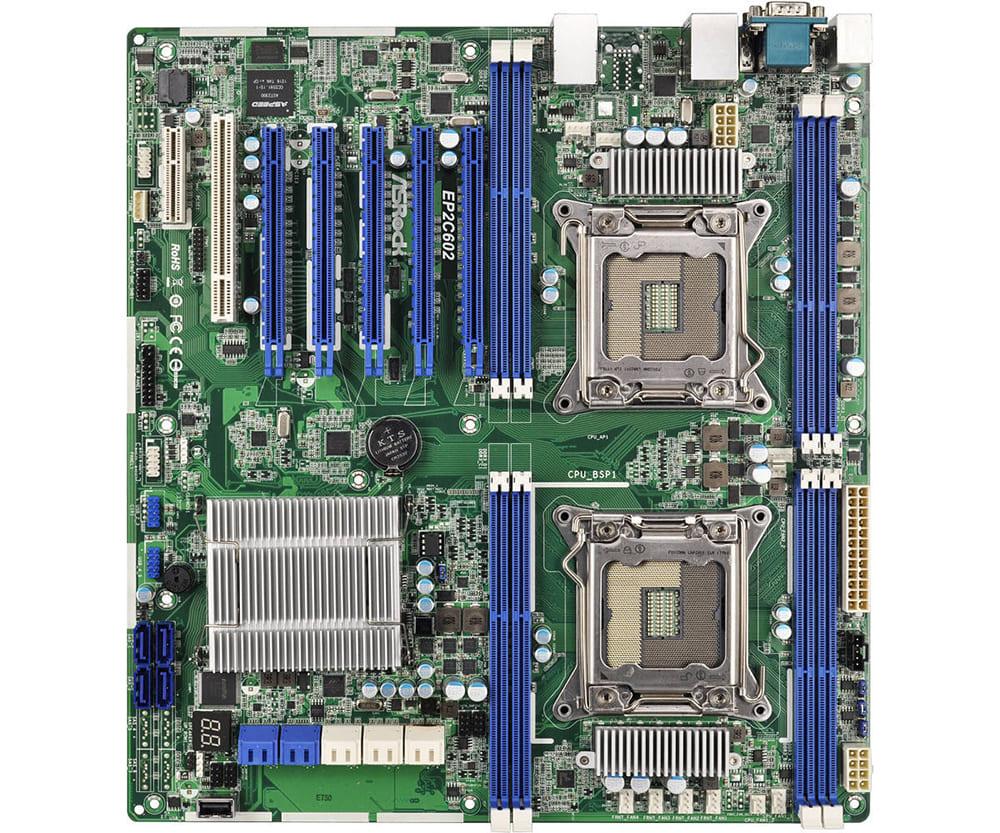 Main Asrock EP2C602 (Chipset Intel C602/ Socket LGA2011/ VGA onboard)