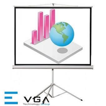 Màn chiếu chân E-VGA T70G (1.78x1.78met)
