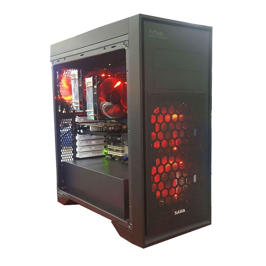 Máy trạm Workstation PAWS7 Dual Xeon E5 2667/ VGA GTX1050 2Gb/ RAM 16Gb