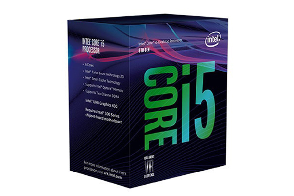 CPU Intel Core i5 8500 (Up to 4.10Ghz/ 9Mb cache) Coffee Lake